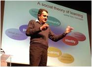 Etienne Wenger elaborates on social learning and communities of practice
